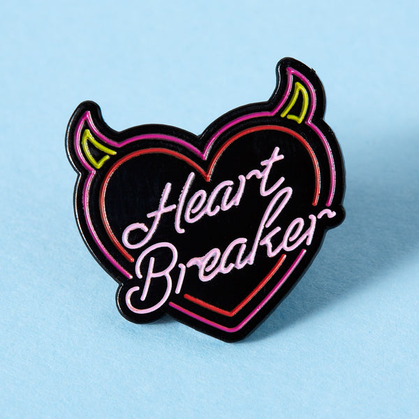 heart breaker neon Punky Pins NZ