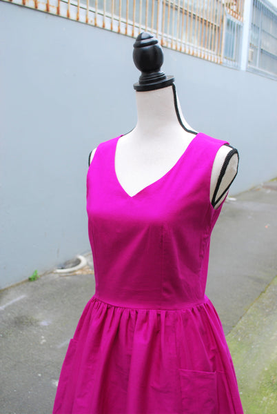 Charlie dress in orchid