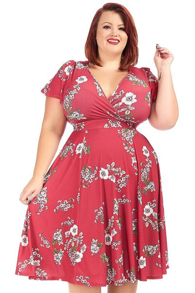 Lady Voluptuous Lyra aviary red floral NZ