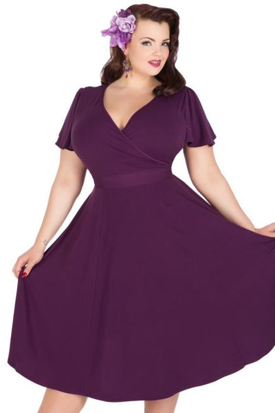 Lady Voluptuous Lyra in purple New Zealand