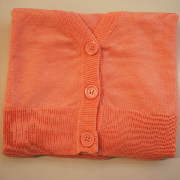 Mak peach cropped cardigan