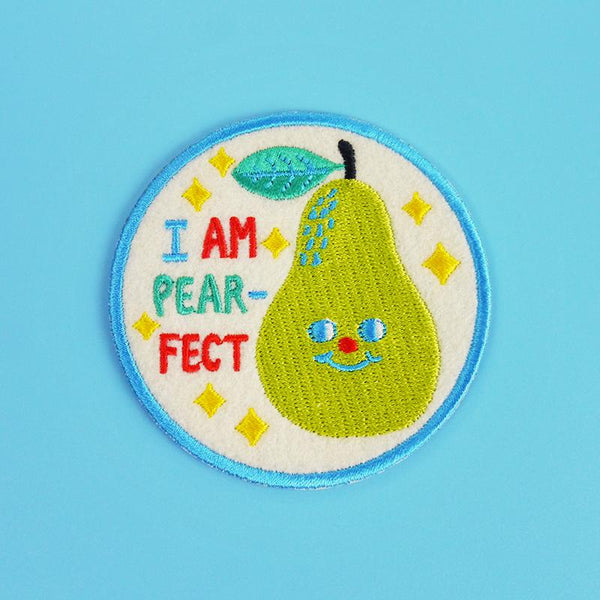 I am pear-fext iron on iron on patch Minifanfan
