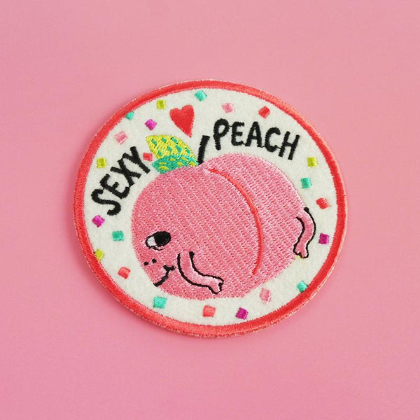 Sexy peach patch