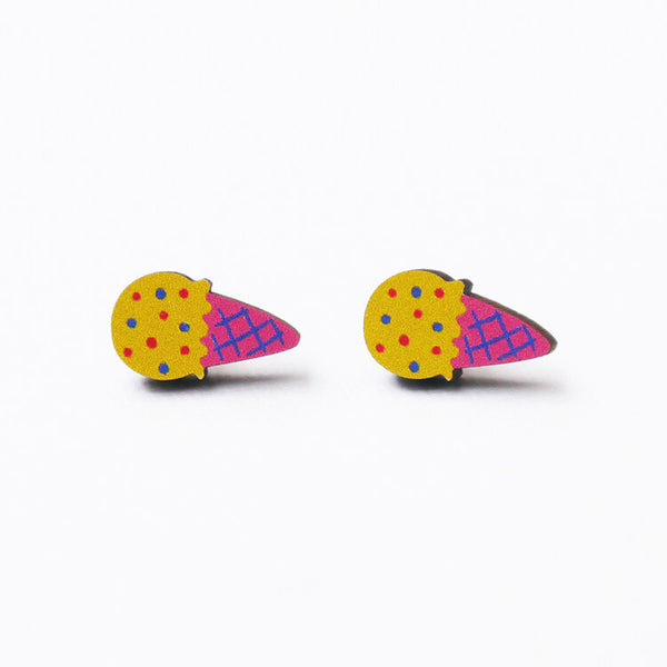 yellow-icecream-earrings-minifanfan