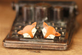 fox earrings Bok Bok B'Gerk NZ