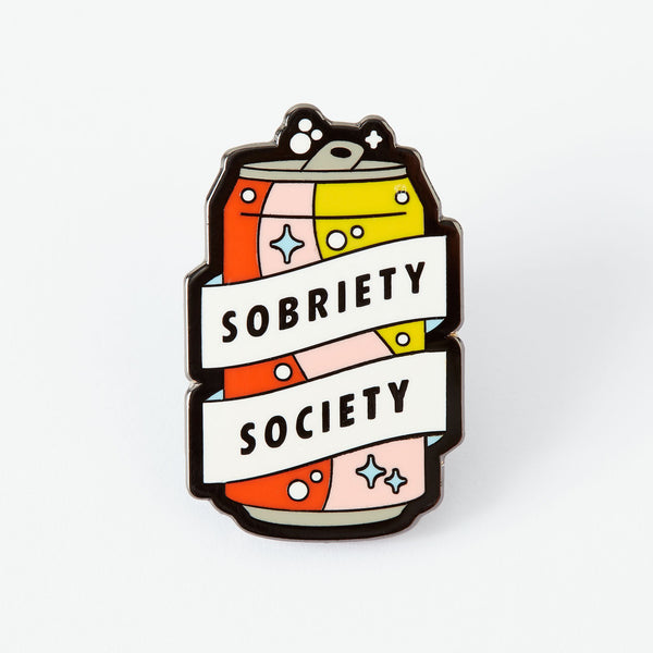 Sobriety Society pin