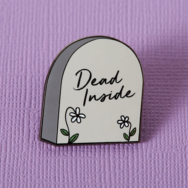Dead inside coffin Punky Pins