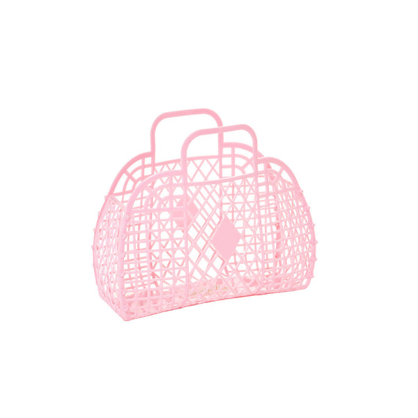 Sun Jellies pink mini basket