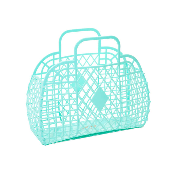 mint Sun Jellies basket
