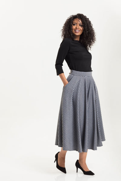 Voodoo Vixen houndstooth skirt NZ