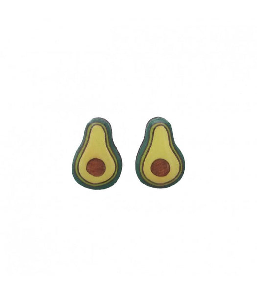 Avocado earrings Bok Bok B'Gerk