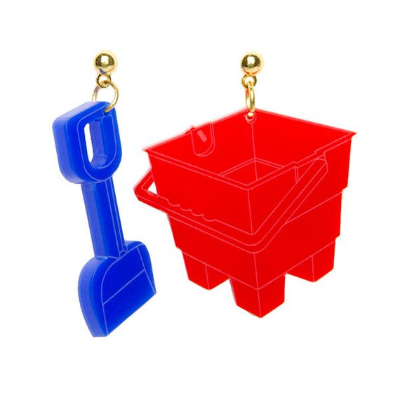 bucket and spade earrings Sugar and Vice