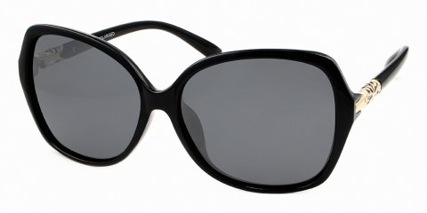 Audrey black retro sunglasses NZ