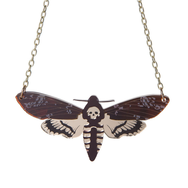 Deathshead Hawkmoth necklace Sugar and Vice