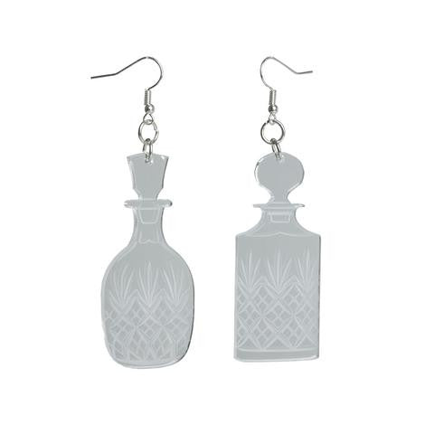 decanter earrings sugar and vice
