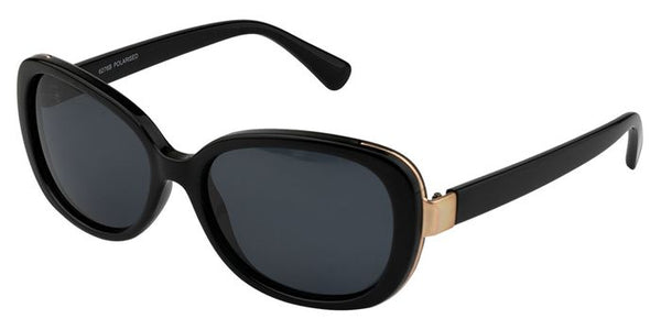 Harper retro black sunglasses