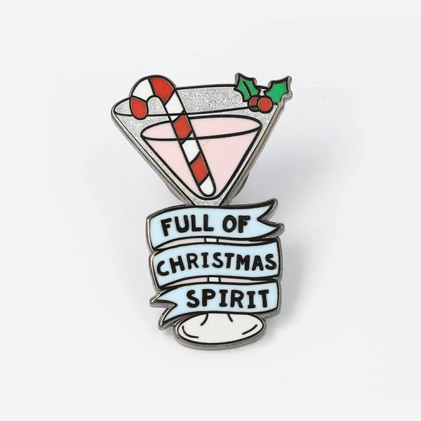 full-of-xmas-spirit-enamel-pin-nz