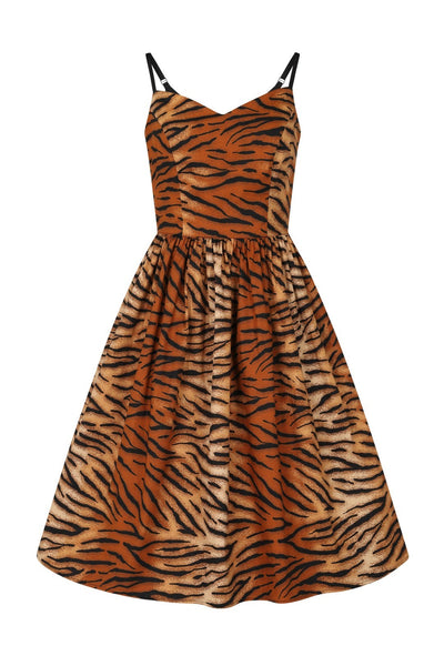 Tiger-print-tora-hell-bunny-50s-dress-nz