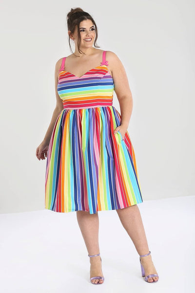 plus-size-hell-bunny-over-the-rainbow-dress-nz