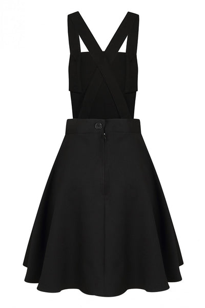 Hell-Bunny-Amelie-black-pinafore-dress-back