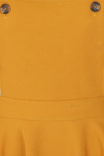 Amelie-mustard-pinafore-hell-bunny-detail