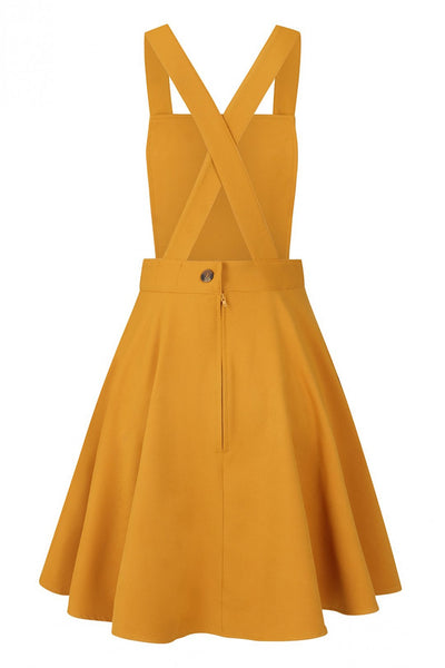 Amelie-mustard-pinafore-hell-bunny-back