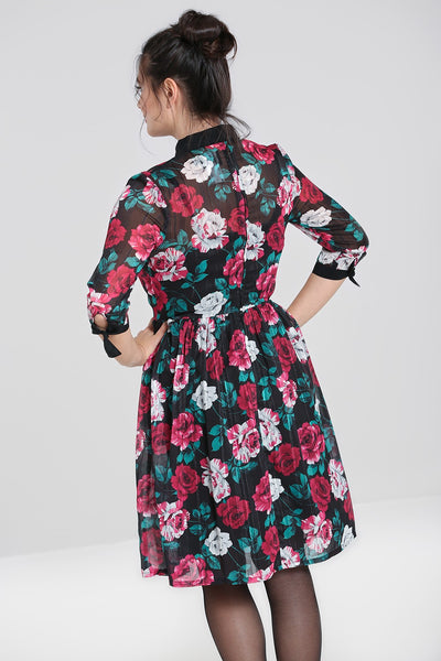 hell-bunny-bed-of-roses-dress-back