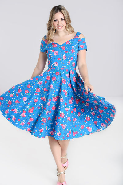 Hell-Bunny-Chantilly-dress-twirl
