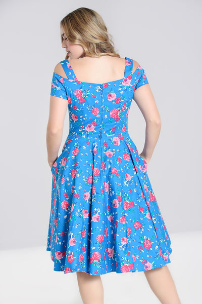 Hell-Bunny-Chantilly-dress-back