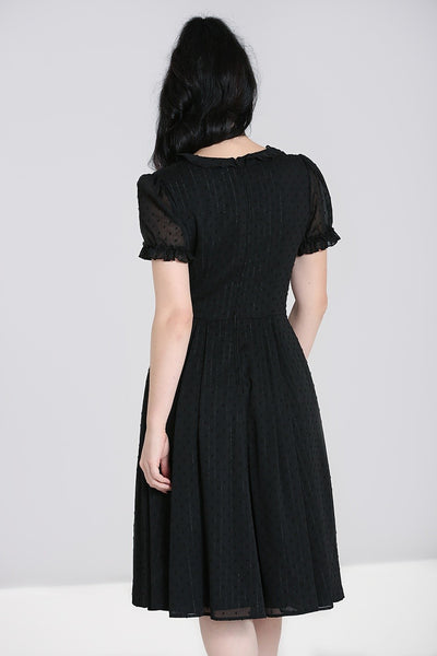 hell-bunny-black-frilly-sundae-dress-back