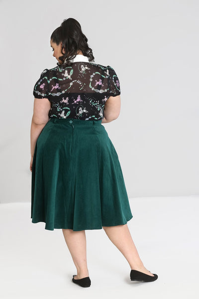 plus-size-jefferson-green-corduroy-skirt-hell-bunny-back