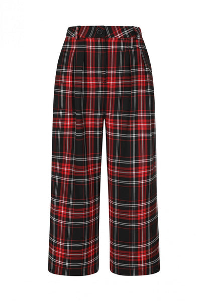 red-black-tartan-hell-bunny-riot-culottes-front