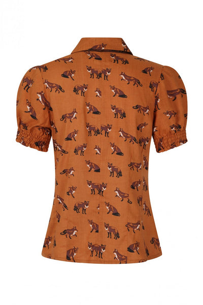 vixey-fox-print-blouse-hell-bunny-back