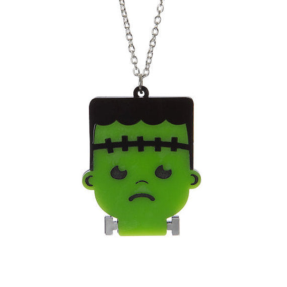 Frankenstein's Monster Necklace