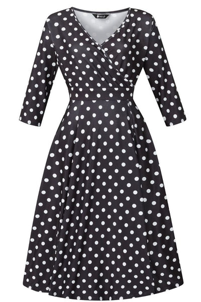 black-and-white-polka-dot-lyra-lady-voluptuous