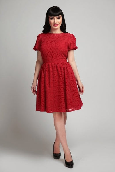 Gemma Broderie Swing dress