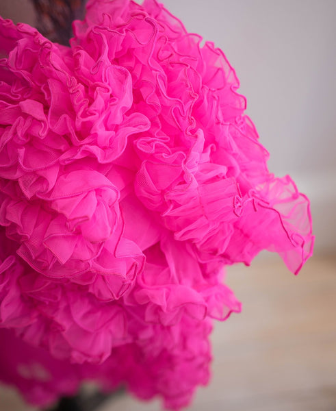 Candy pink 23 inch petticoat