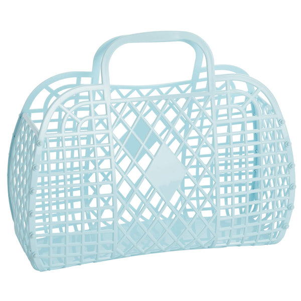 sun jellies retro basket blue NZ