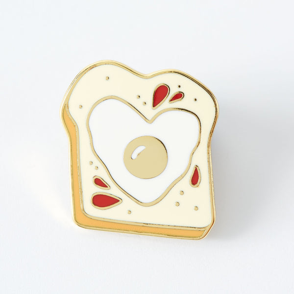 egg-on-toast-enamel-pin