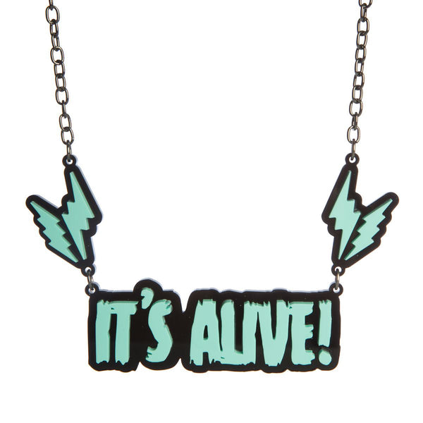 it's alive sugar and vice necklace