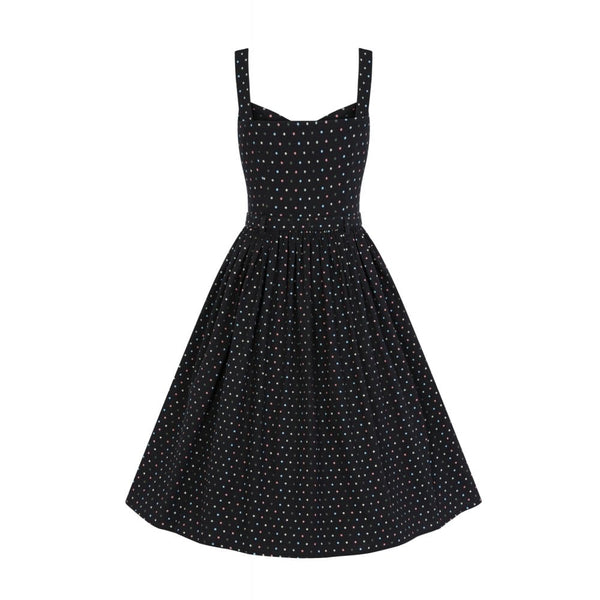 Jemima polka dot dress