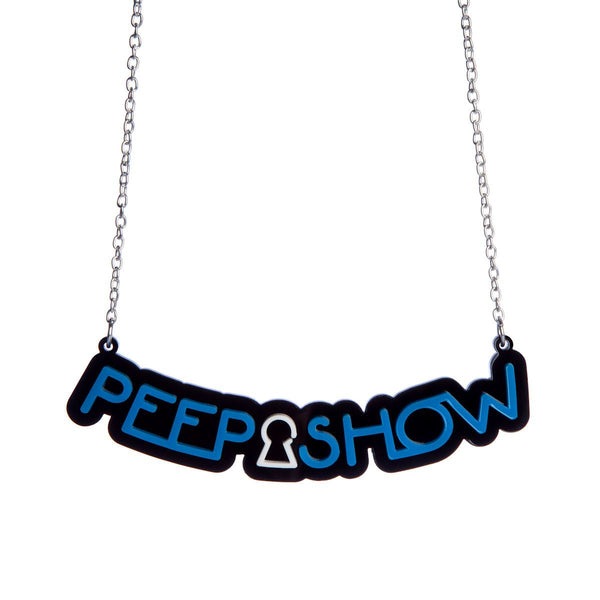 Peep show necklace from Sugar and Vice