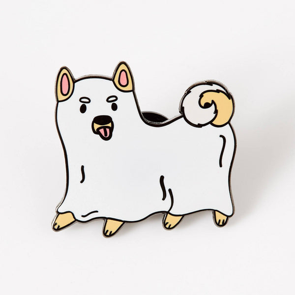 Ghost Dog pin