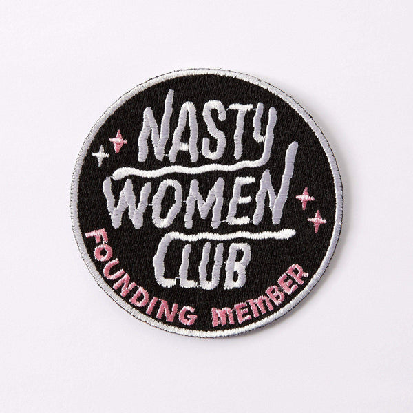 Nasty Women Club patch