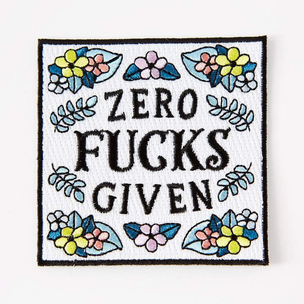 Zero f*cks given patch