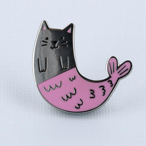 purrmaid-cat-enamel-pin-Punky-Pins-NZ