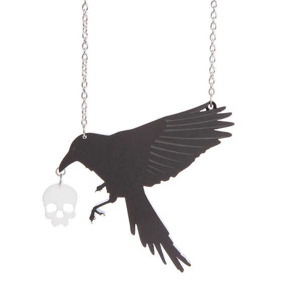 The raven necklace Sugar & Vice