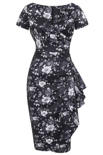 chrome-floral-elsie-lady-vintage-nz