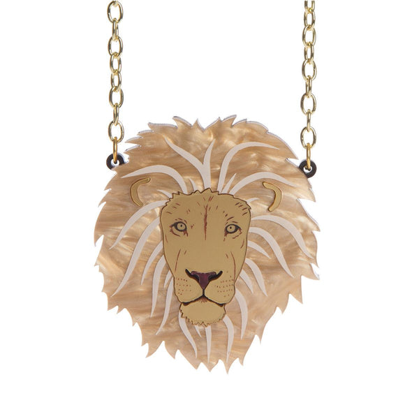 Strength Lion necklace