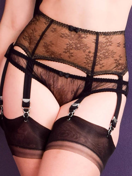 Veronika suspender belt